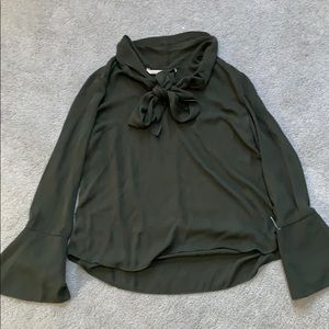Olive green XL Rachel Roy shirt